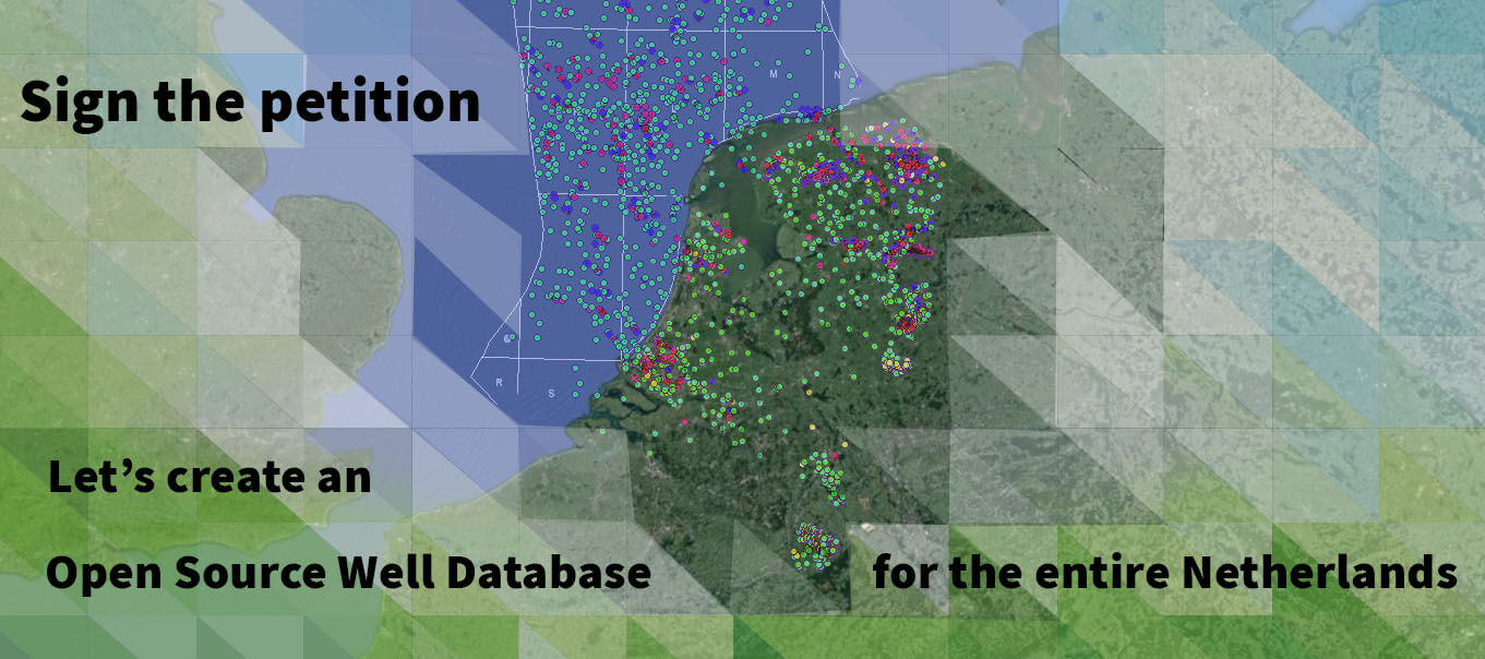 Sign the Petition for an open well database